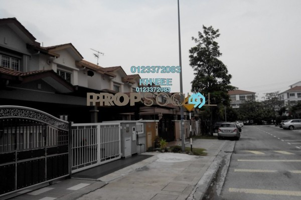 For Sale Terrace at Setia Impian, Setia Alam Freehold Unfurnished 4R/3B 620k