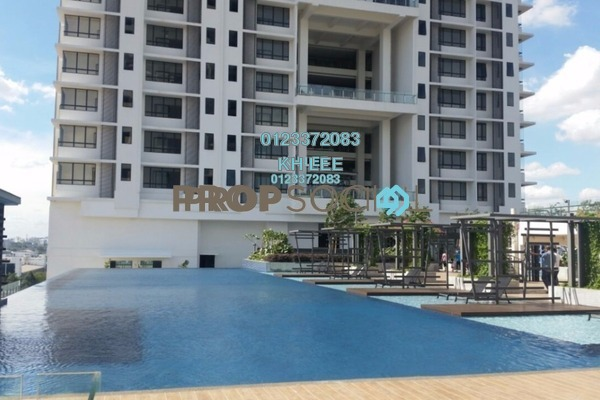 For Sale Serviced Residence at You One, UEP Subang Jaya Leasehold Semi Furnished 1R/1B 480k