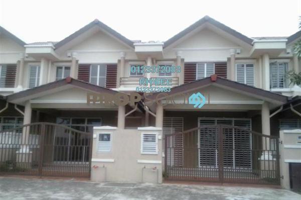 For Rent Terrace at Alam Nusantara, Setia Alam Freehold Unfurnished 4R/3B 1.6k