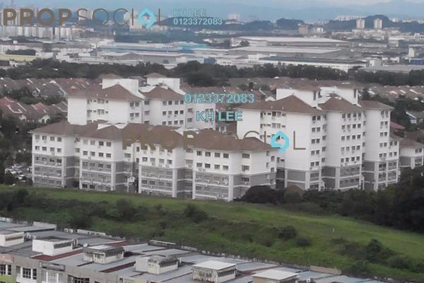 For Sale Apartment at Fairville, UEP Subang Jaya Freehold Semi Furnished 3R/2B 428k