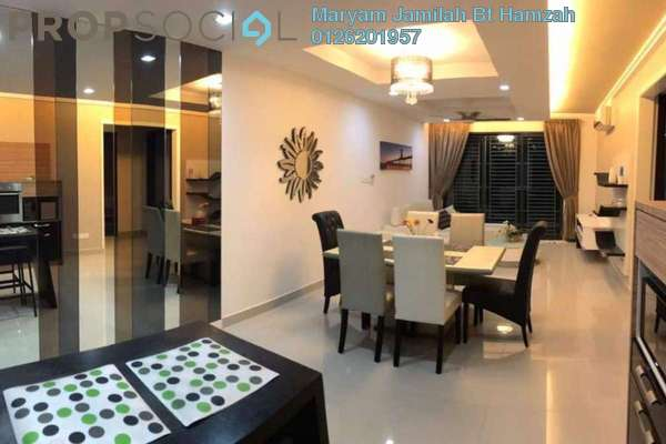 For Rent Condominium at Gardenview Residence, Cyberjaya Freehold Fully Furnished 3R/2B 3k