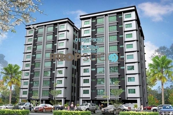 For Sale Apartment at Taman Bukit Serdang, Seri Kembangan Freehold Fully Furnished 3R/2B 380k