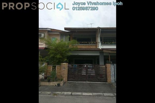 For Sale Terrace at Taman Pengkalan Utama, Ipoh Leasehold Semi Furnished 4R/4B 375k