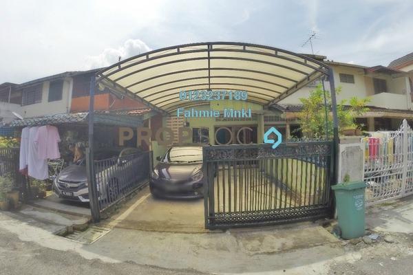 For Rent Terrace at Taman Sri Rampai, Setapak Freehold Unfurnished 3R/3B 1.5k