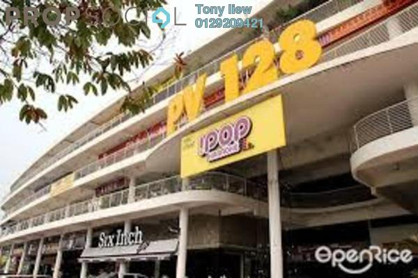 For Rent Shop at Platinum Mondrian PV128, Setapak Freehold Unfurnished 0R/0B 13k