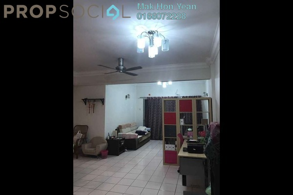 For Sale Condominium at Sri Bayu Apartment, Bandar Puchong Jaya Freehold Semi Furnished 3R/2B 378k