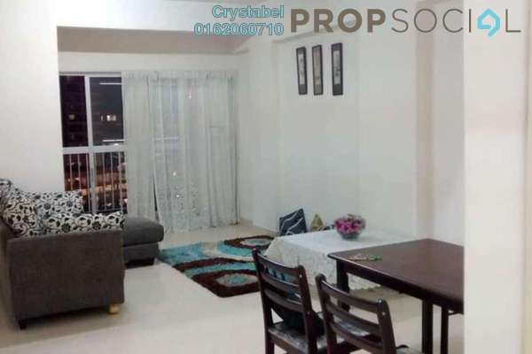 For Rent Condominium at Menara Pelangi, Brickfields Freehold Fully Furnished 3R/2B 2.1k