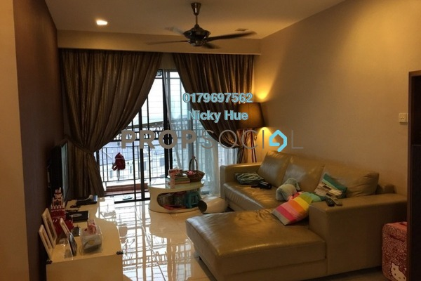 For Sale Condominium at Casa Indah 1, Tropicana Freehold Unfurnished 2R/2B 765k