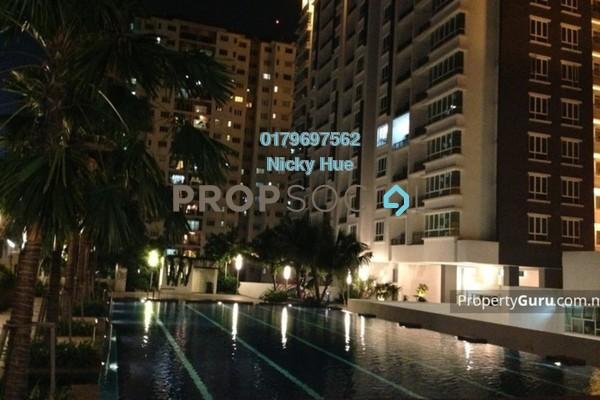 For Rent Condominium at Zenith Residences, Kelana Jaya Freehold Semi Furnished 3R/2B 1.8k