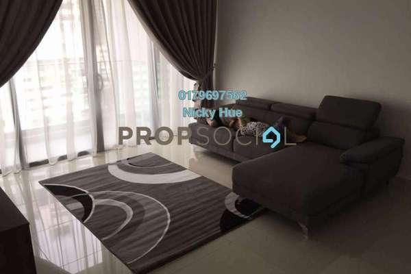 For Rent Condominium at Reflection Residences, Mutiara Damansara Freehold Fully Furnished 3R/2B 4k