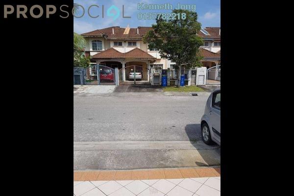 For Sale Terrace at Anggerik Liparis, Kota Kemuning Freehold Semi Furnished 4R/3B 649k