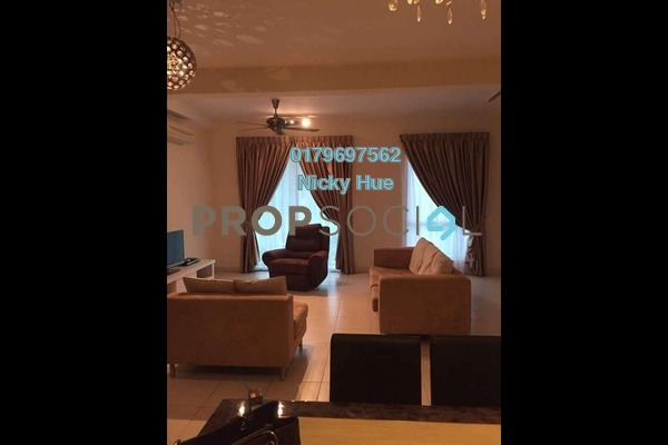 For Rent Condominium at Casa Indah 2, Tropicana Freehold Semi Furnished 2R/2B 2.8k