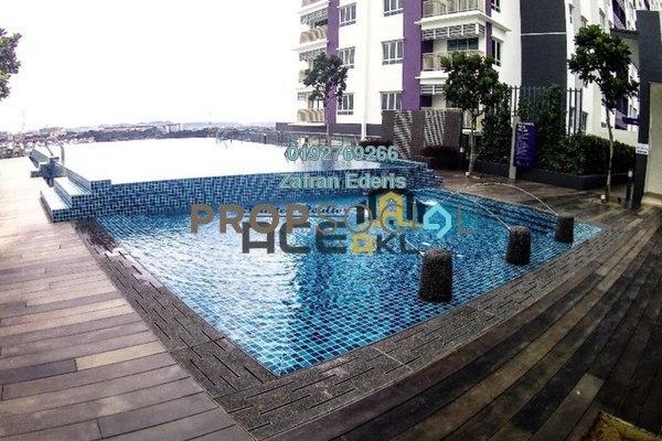 For Sale Serviced Residence at Saville @ Kajang, Kajang Freehold Unfurnished 2R/2B 355k