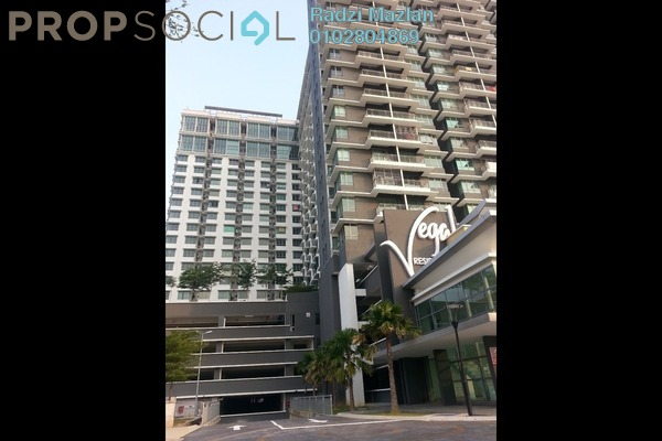 For Rent Condominium at Vega Residensi, Cyberjaya Freehold Semi Furnished 1R/1B 1k