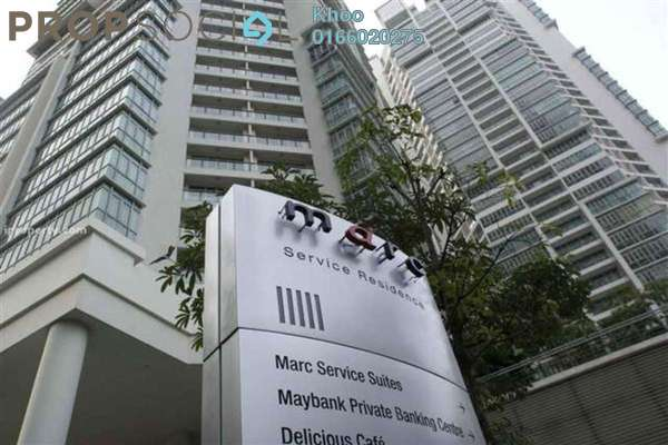 For Sale Condominium at Marc Service Residence, KLCC Freehold Fully Furnished 3R/3B 1.7m