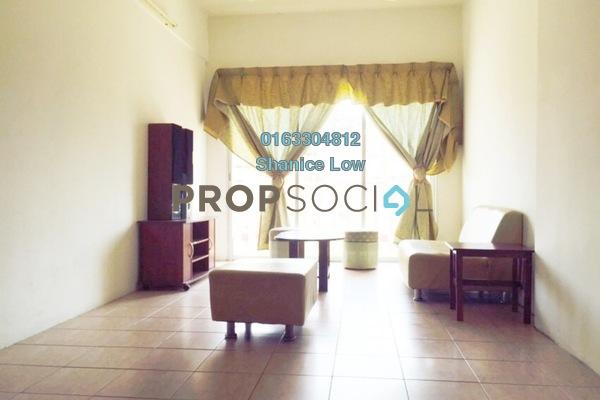 For Sale Apartment at Sri Camellia Apartment, Bandar Puteri Puchong Freehold Semi Furnished 3R/2B 360k