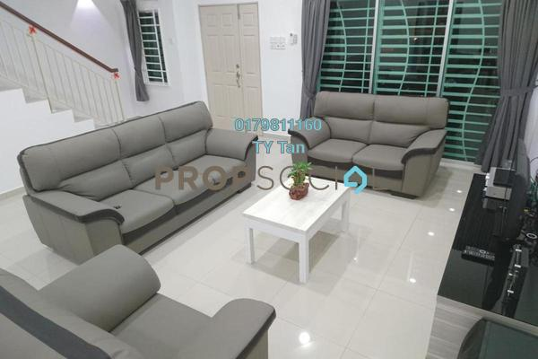 For Sale Terrace at Taman Kinrara, Bandar Kinrara Freehold Semi Furnished 4R/3B 695k