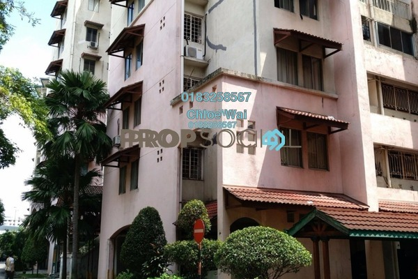 For Sale Condominium at Ixora Apartment, Pudu Freehold Unfurnished 3R/2B 378k