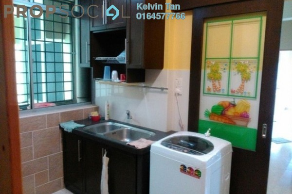For Rent Apartment at Taman Sri Bunga, Jelutong Freehold Fully Furnished 3R/2B 1.15Ribu