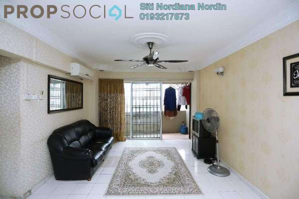 For Sale Condominium at Sentul Utama Condominium, Sentul Freehold Semi Furnished 3R/2B 320k