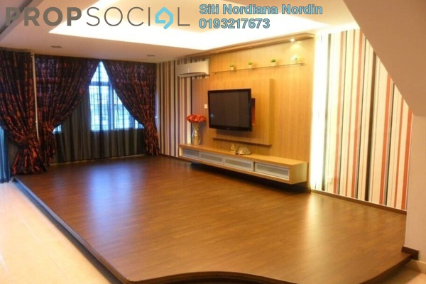For Sale Townhouse at Taman Lagenda Mas, Cheras South Freehold Fully Furnished 4R/3B 1.1m