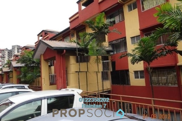 For Sale Condominium at Winner Heights, Desa Petaling Freehold Semi Furnished 3R/2B 230k