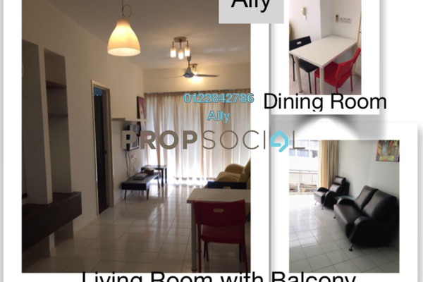 For Sale Condominium at 38 Bidara, Bukit Ceylon Freehold Fully Furnished 2R/2B 650k