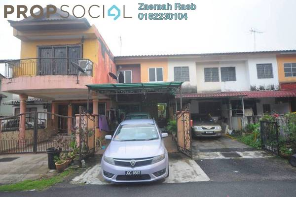 For Sale Terrace at Taman Permata, Wangsa Maju Freehold Semi Furnished 2R/2B 489k