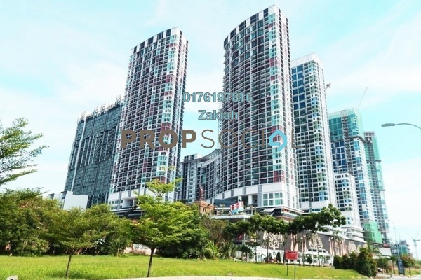 For Rent Serviced Residence at i-City, Shah Alam Freehold Fully Furnished 2R/1B 1.6k