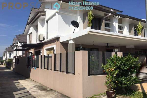 For Sale Terrace at Saffron Hills, Denai Alam Freehold Semi Furnished 4R/3B 1.05m
