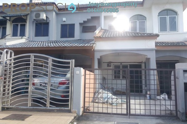 For Sale Terrace at Kenari, Bandar Puchong Jaya Freehold Unfurnished 4R/2B 618k