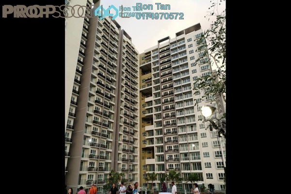 For Sale Condominium at Tropicana Bay Residences, Bayan Indah Freehold Semi Furnished 3R/2B 1.2m
