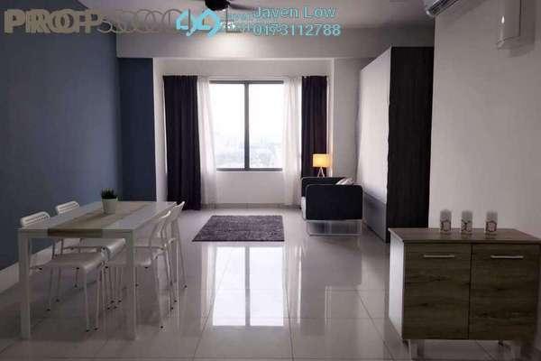 For Rent Condominium at Platinum Hill PV8, Setapak Freehold Semi Furnished 4R/3B 2.5k