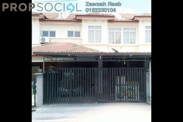 For Sale Terrace at Bandar Tasik Kesuma, Semenyih Freehold Semi Furnished 4R/3B 390k