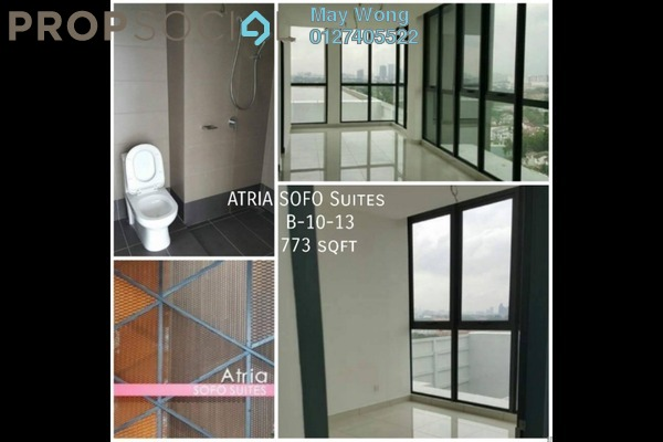 For Sale Condominium at Atria, Damansara Jaya Freehold Unfurnished 1R/1B 700k