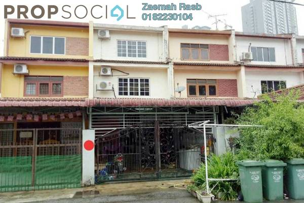 For Sale Terrace at Taman Wilayah Selayang, Selayang Freehold Semi Furnished 3R/2B 380k