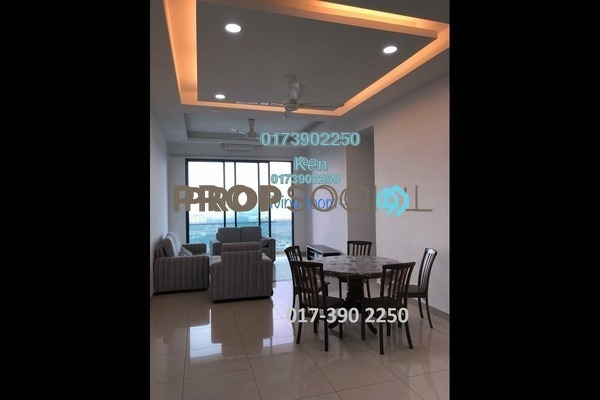 For Rent Condominium at USJ One Park, UEP Subang Jaya Freehold Semi Furnished 4R/3B 2.2k