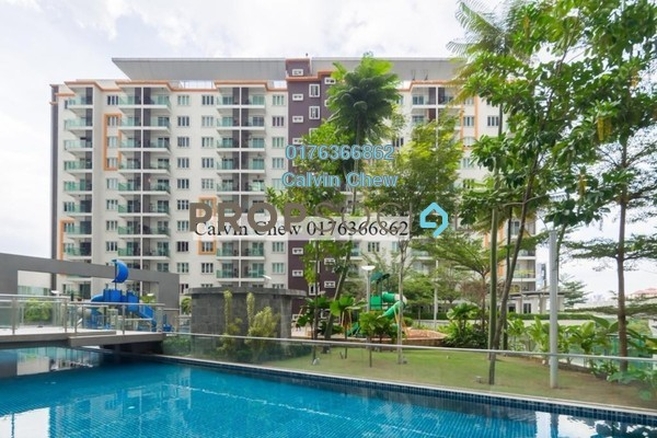 For Sale Serviced Residence at Hijauan Saujana, Saujana Freehold Unfurnished 1R/1B 328k