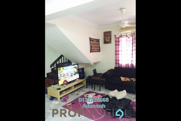 For Sale Terrace at Taman Sri Sinar, Segambut Freehold Semi Furnished 3R/2B 678k