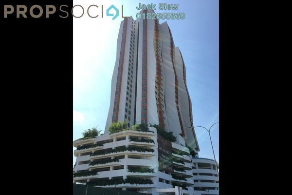For Rent Condominium at The Clio Residences, IOI Resort City Freehold Semi Furnished 2R/2B 1.6k