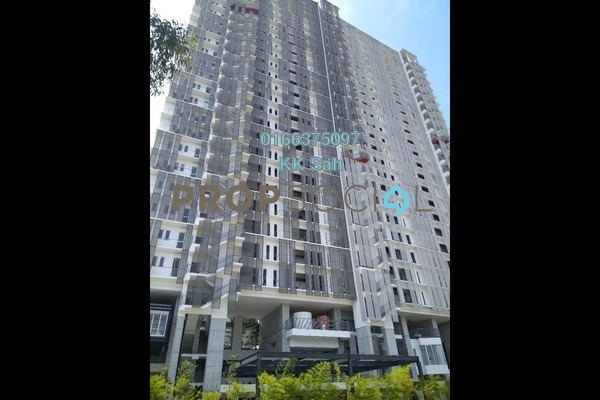 For Rent Condominium at Elevia Residences, Bandar Puchong Utama Freehold Semi Furnished 3R/2B 1.5k