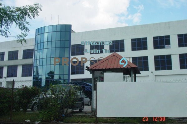 For Rent Factory at Bukit Raja Industrial Park, Klang Freehold Semi Furnished 0R/0B 142k