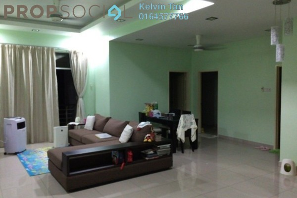For Rent Condominium at Ideal Regency, Bukit Gambier Freehold Fully Furnished 3R/2B 1.6k