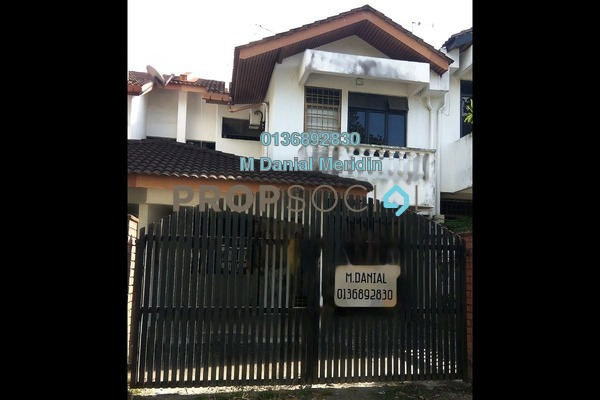 For Rent Terrace at Taman Daya, Tebrau Freehold Semi Furnished 4R/3B 1.5k
