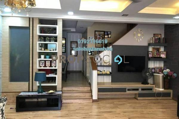 For Sale Terrace at Palm Walk, Bandar Sungai Long Freehold Semi Furnished 4R/3B 720k