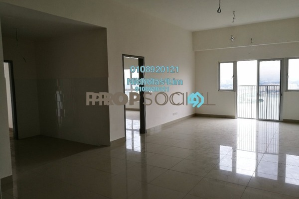 For Sale Condominium at The Wharf, Puchong Freehold Unfurnished 3R/2B 490k