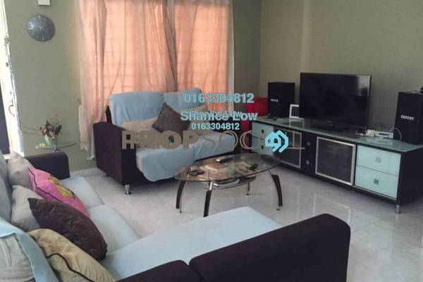 For Sale Terrace at Puteri 6, Bandar Puteri Puchong Freehold Semi Furnished 4R/3B 890k