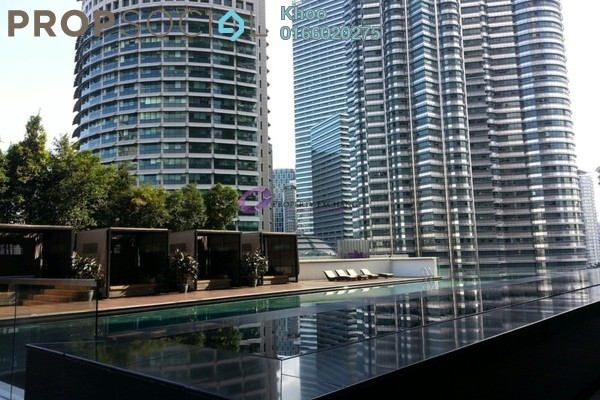 For Rent Condominium at K Residence, KLCC Freehold Fully Furnished 2R/2B 6k