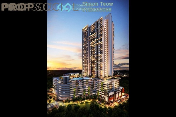 For Sale Condominium at The Hermington, Kuchai Lama Leasehold Unfurnished 3R/2B 450k