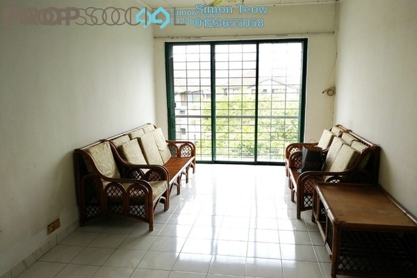 For Rent Apartment at SD Apartment II, Bandar Sri Damansara Freehold Semi Furnished 3R/2B 950translationmissing:en.pricing.unit